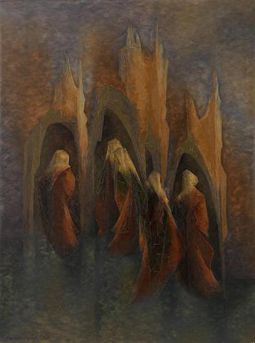 Jehangir Sabavala (India, 1922-2011) Vespers I,