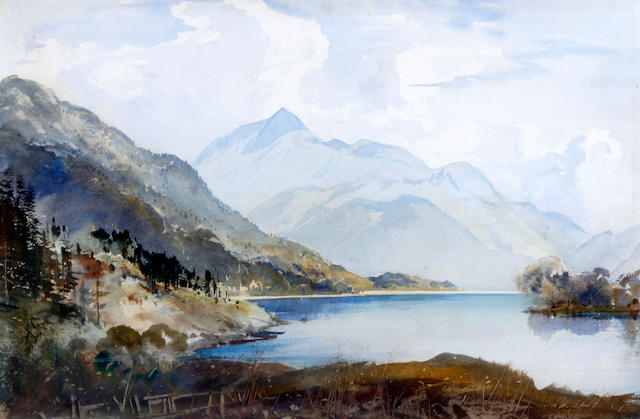 Cecil Arthur Hunt (British, 1873-1965) 'Loch Lomond'