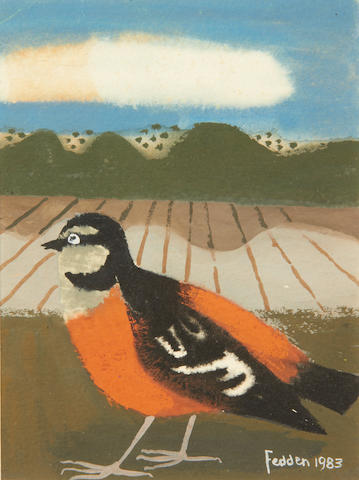 Mary Fedden R.A. (British, born 1915) Chaffinch