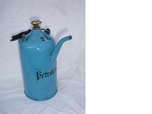An early Petroleum priming kettle, French, circa 1905,