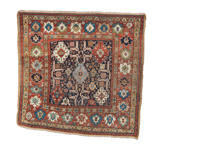 A Bakshaish carpet, West Persia, circa 1880, 6 ft 5 in x 6 ft 8 in (196 x 202 cm) restorations and areas of uneven wear
