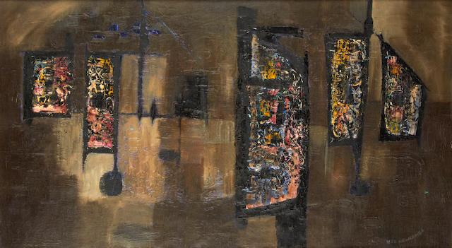 William John Bertram Newcombe (Canadian, 1907-1969) 'Dusk'