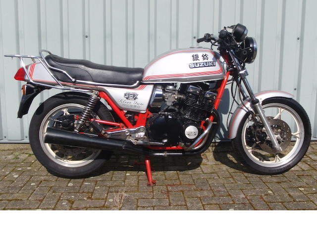 1981 Suzuki GSX750 'Silver Suzi' Limited Edition Frame no. GS75X-520696 Engine no. GS750X-147074