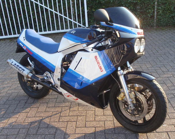 1986 Suzuki GSX-R1100 Frame no. JS1GU7YA7G2103293 Engine no. U705-405486
