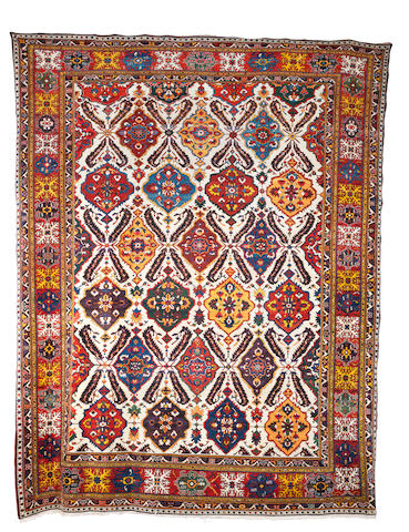 A Bakhtiar carpet, West Persia, circa 1890, 20 ft 8 in x 16 ft 1 in (630 x 490 cm) some restoration