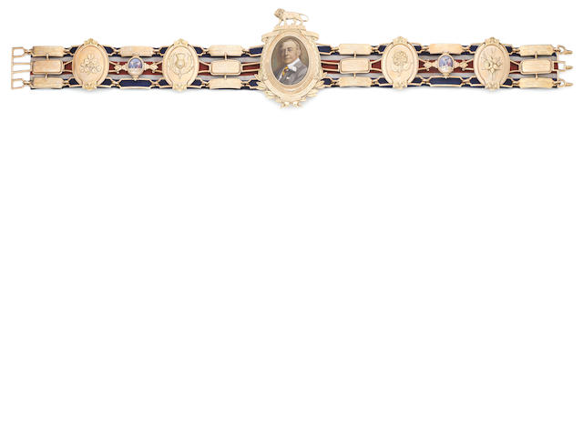 The Gold Heavyweight Lonsdale Belt won by Henry Cooper