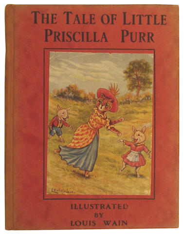 WAIN (LOUIS) RUTLEY (CECILY M.) The Tale of Little Priscilla Purr, 1920