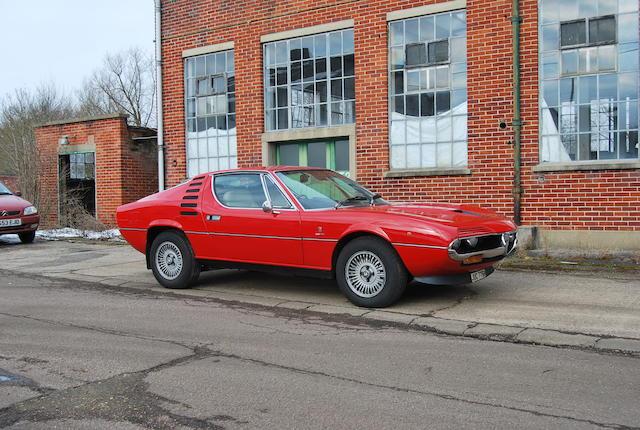 1975 Alfa Romeo Montreal 2.6-Litre Coupé  Chassis no. 1440227 Engine no. AR10564