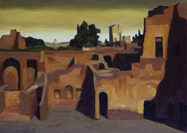 Renny Tait (British, 1965) 'House of Livia (Palatine)'