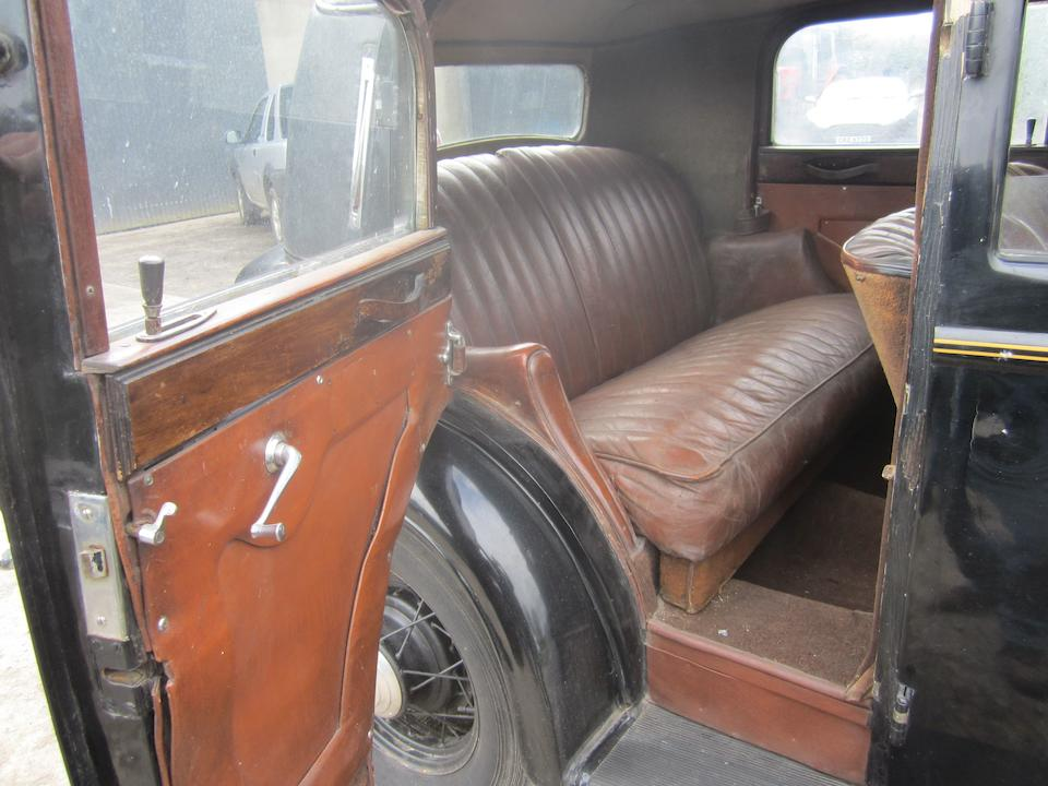 1934 Ford V8 Model 40 Sports Saloon  Chassis no. C18XF3760 Engine no. R1191281P