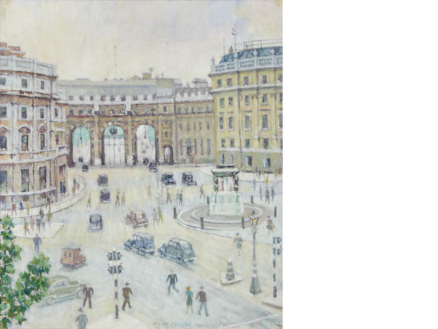 Evelyn Abelson (British, 1886-1967) Admiralty Arch