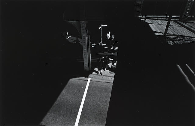 Harry Callahan (American, 1912-1999) State Street, Chicago, 1959 Paper 27.9 x 35.4cm (11 x 13 15/16in), image 18.4 x 28.3cm (7 1/4 x 11 1/8in).