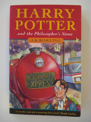 ROWLING (J.K.) Harry Potter and the Philosopher's Stone, FIRST PAPERBACK EDITION, 1997