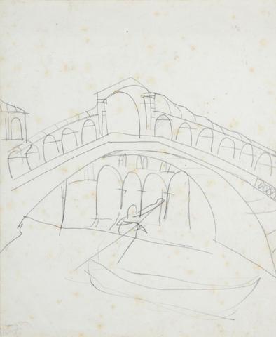 Peter Lanyon (British, 1918-1964) The Rialto Bridge