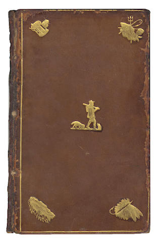 HOWLETT (ROBERT)] The Anglers Sure Guide: or, Angling Improved, And Methodically Digested, 1706; bound with Boaz. Angler's Progress, 1820