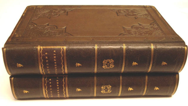 JOHNSON (JOHN)  Typographia, or the Printer's Instructor, 2 vol., 1824