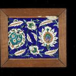 An Iznik pottery Border Tile Turkey, circa 1575