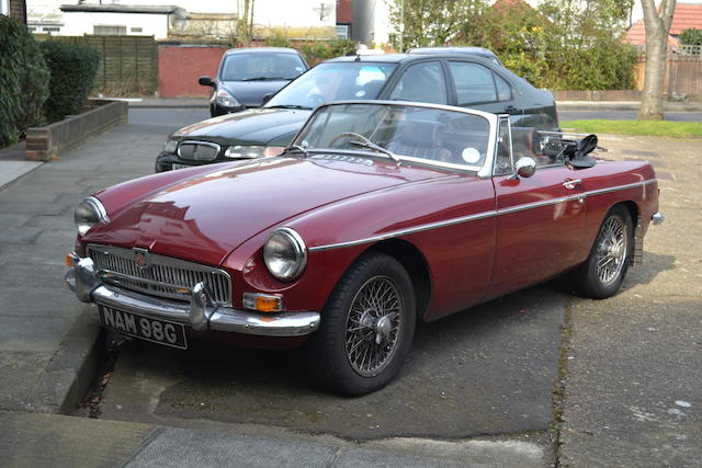 1968 MGB Roadster  Chassis no. GHN/1571736 Engine no. 18V582FH34