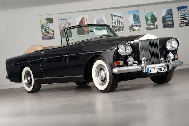 1965  Rolls-Royce  Silver Cloud III Drophead Coupé  Chassis no. LCSC53B Engine no. XB26CS