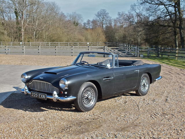 1962 Aston Martin DB4 Convertible