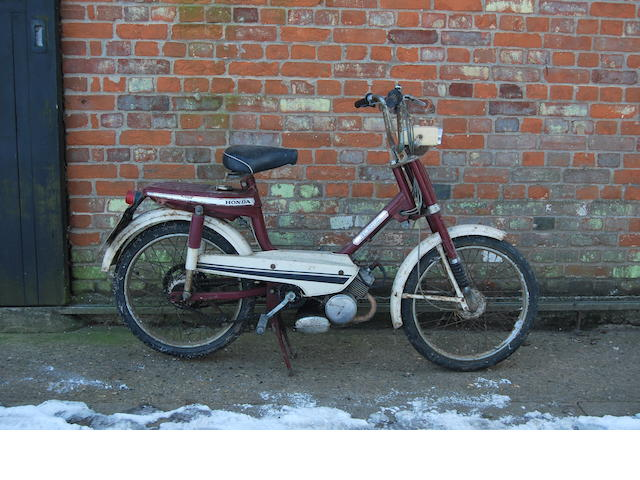 1977 Honda 50 Moped
