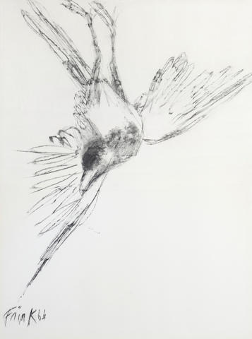 Dame Elisabeth Frink R.A. (British, 1930-1993) Bird each 74cm x 55 (29 1/8 x 21 5/8in)