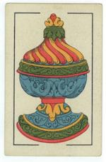 "A pack of Mexican playing cards, ""Spanish National"" Pattern, 1842,"