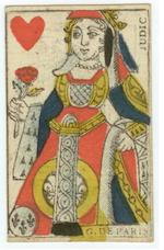 "A collection of French ""Secondary Use"" playing cards, 18th/19th centuries,"