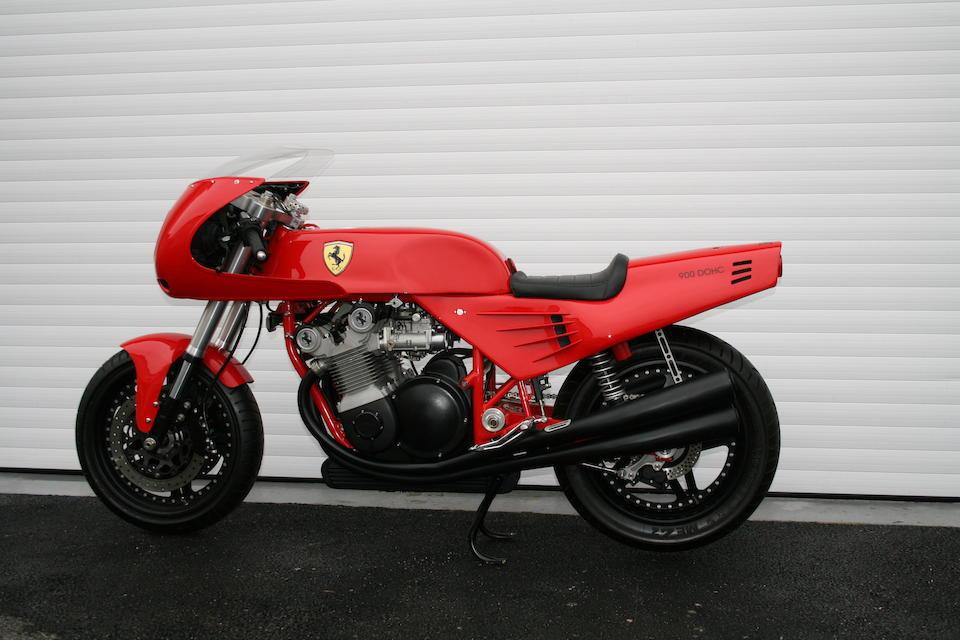 1995 Ferrari 900cc Motorcycle by 'David Kay Engineering'  Frame no. SF-O1M Engine no. SF-O1M