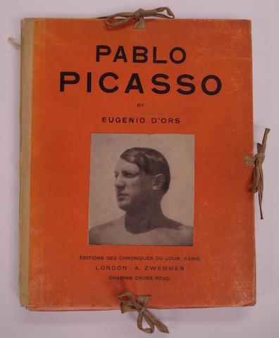 PICASSO (PABLO) D'ORS (EUGENIO) Pablo Picasso