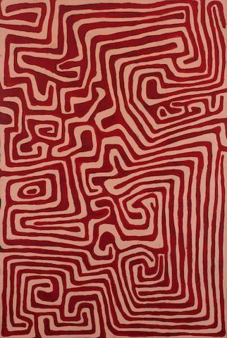 Jackie Kurltjunyintja Giles (1944-2010) Tjamu Tjamu