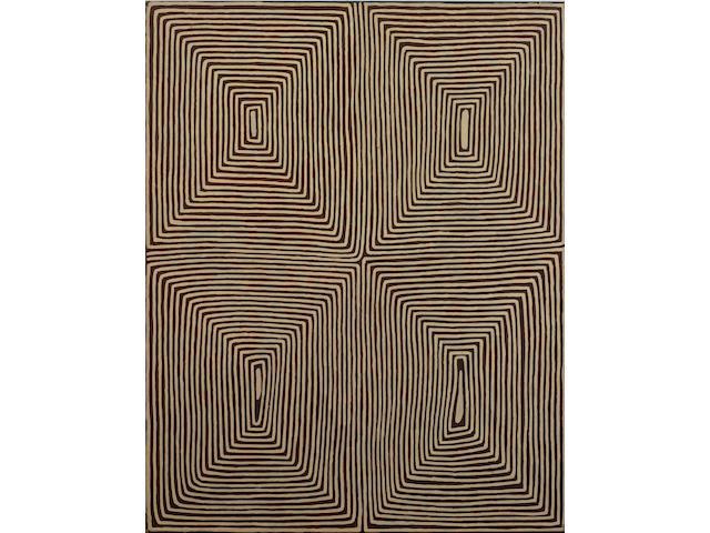 George Tjungurrayi (born circa 1943) Untitled (Wala Wala Rockhole)