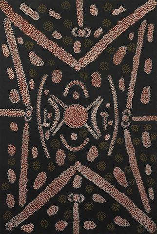 Tim Leura Tjapaltjarri (circa 1929-1984) Teaching Little Children