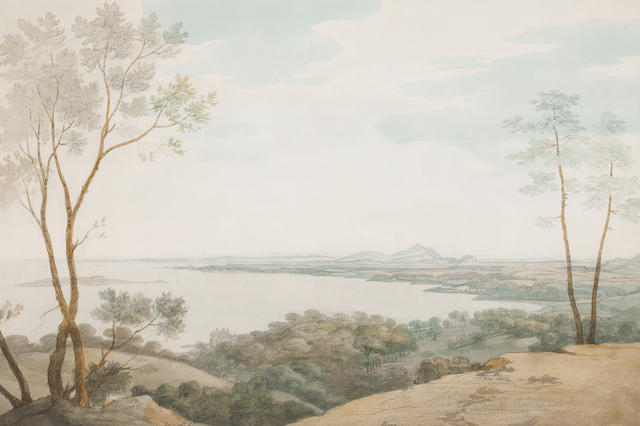 Attributed to Joseph Farington View of Dalmeny