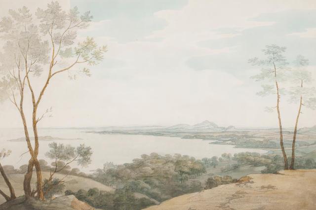 Attributed to Joseph Farington View of Dalmeny