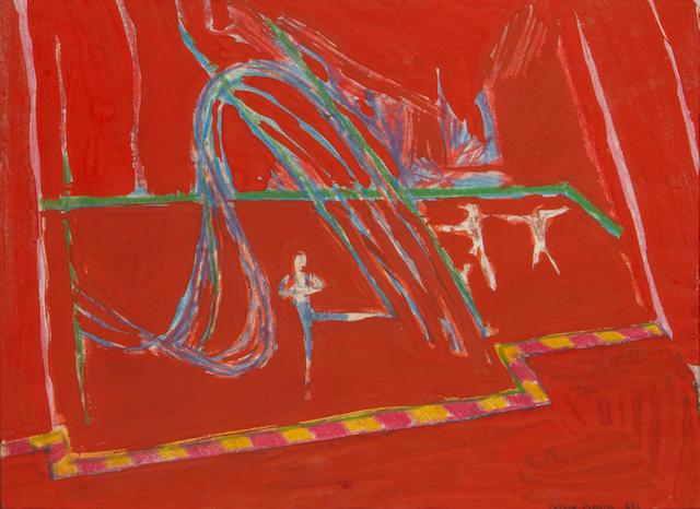Patrick Procktor (British, 1936-2003) 'Acrobats'