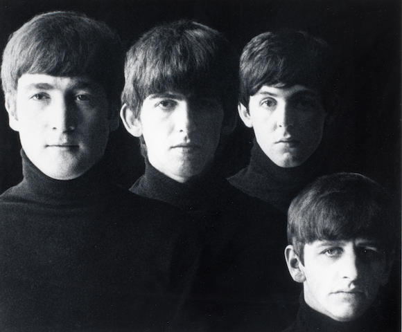 Robert Freeman (British, born 1936) With the Beatles, 1963 Sight area 25.5 x 30.5cm (10 1/16 x 12in).
