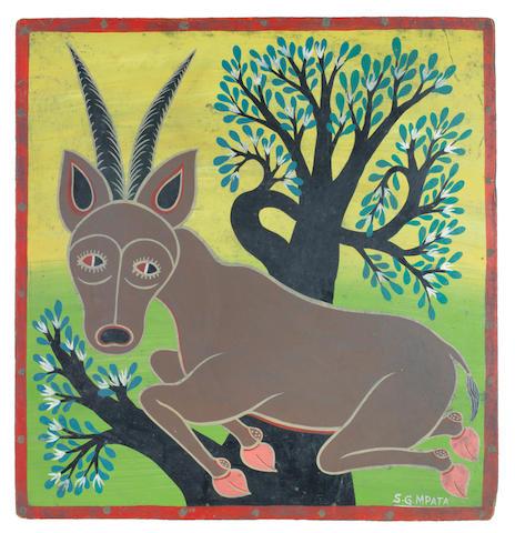 Simon George Mpata (Tanzanian, 1942-1984) Buck