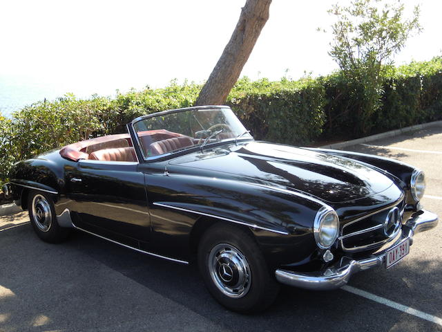 1959 Mercedes-Benz 190SL Roadster  Chassis no. 1210428500661