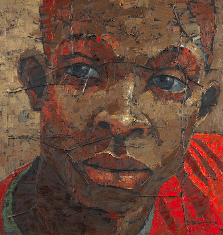 Alex Nwokolo (Nigerian, born 1963) 'Uncertainty'