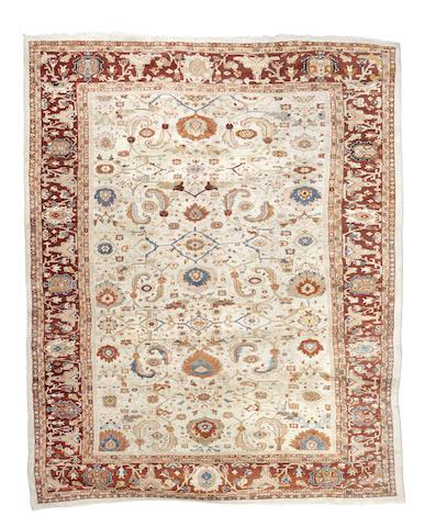 A Ziegler carpet, West Persia, circa 1890, 14 ft 6 in x 11 ft 10 in (442 x 351 cm)