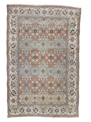 A Khorassan carpet, North East Persia, circa 1880, 12 ft 3 in x 8 ft (374 x 244 cm) some minor wear