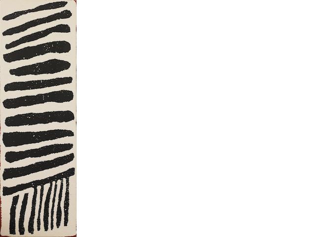 Wintjiya Napaltjarri (born 1932) Untitled (Soakage Site of Watanuma)