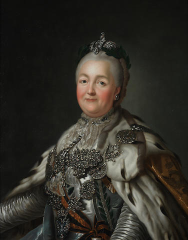 After Alexander Roslin Portrait of Catherine the Great (1762-1796)