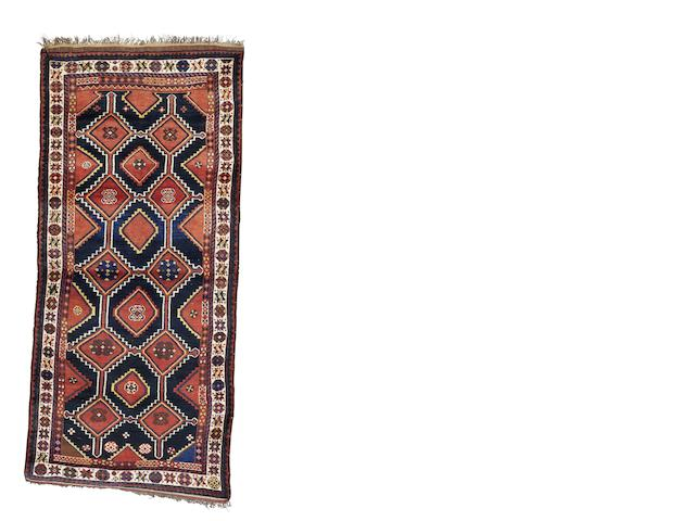 A Luri rug, West Persia, circa 1910, 9 ft 2 in x 4 ft (278 x 123 cm) good condition