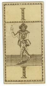 A pack of German tarock cards, designed by Daniel Chodowiezki, circa 1785,