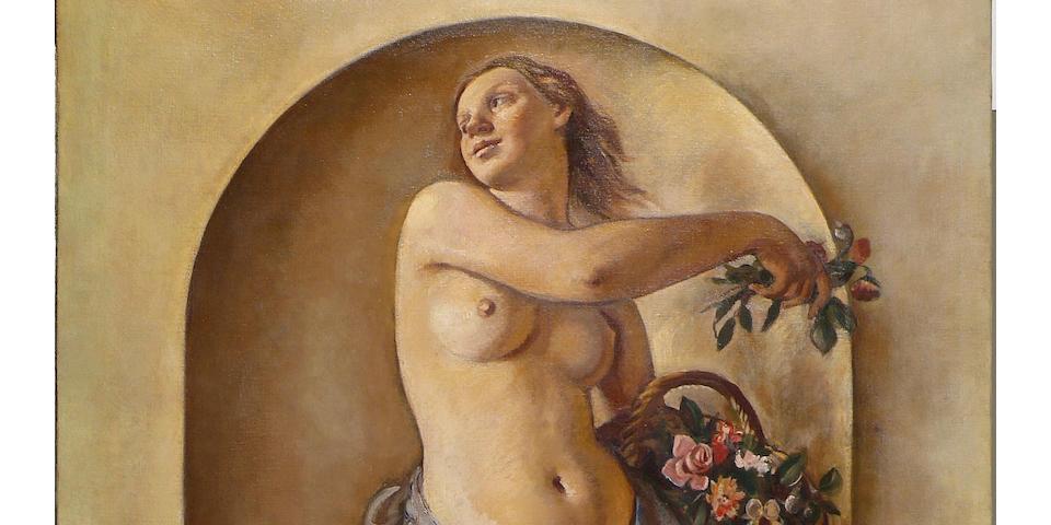 Zinaida Evgenievna Serebriakova (Russian, 1884-1967)  'Flora'