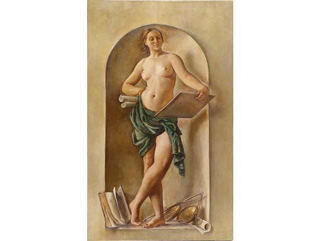 Zinaida Evgenievna Serebriakova (Russian, 1884-1967) 'Jurisprudence'