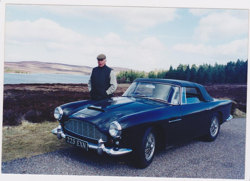 Single family ownership from new and by order of the executors of the estate of the late Peter Gwynn,,1962 Aston Martin DB4 Vantage Convertible  Chassis no. DB4C/1072/R Engine no. 370/1030/SS