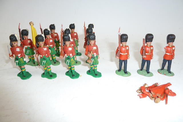 RARE Timpo early plastic figures 188
